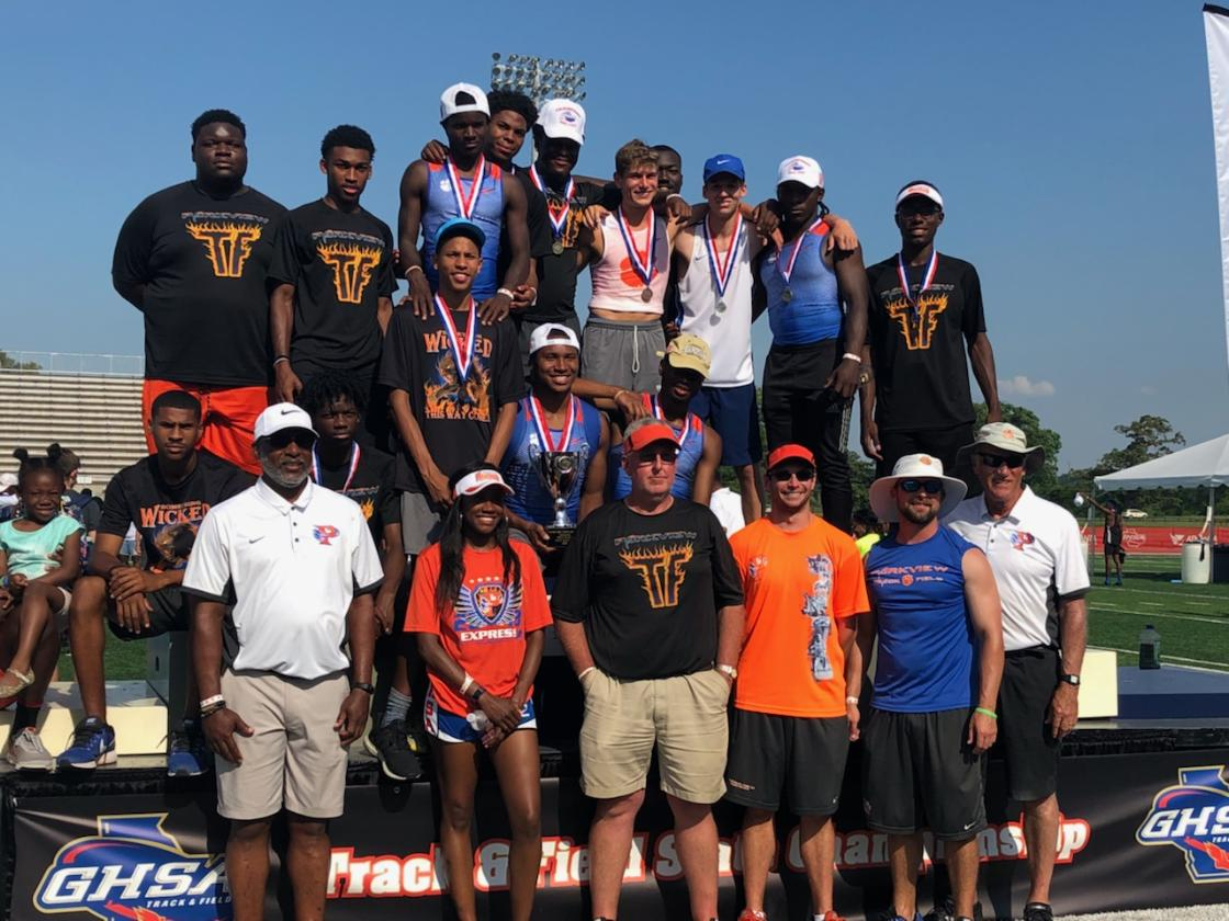 Boys Track Wins State Championship