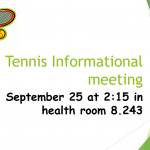 Tennis Meeting