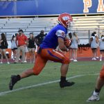 Boys Varsity Football beats Mountain View 28 – 18
