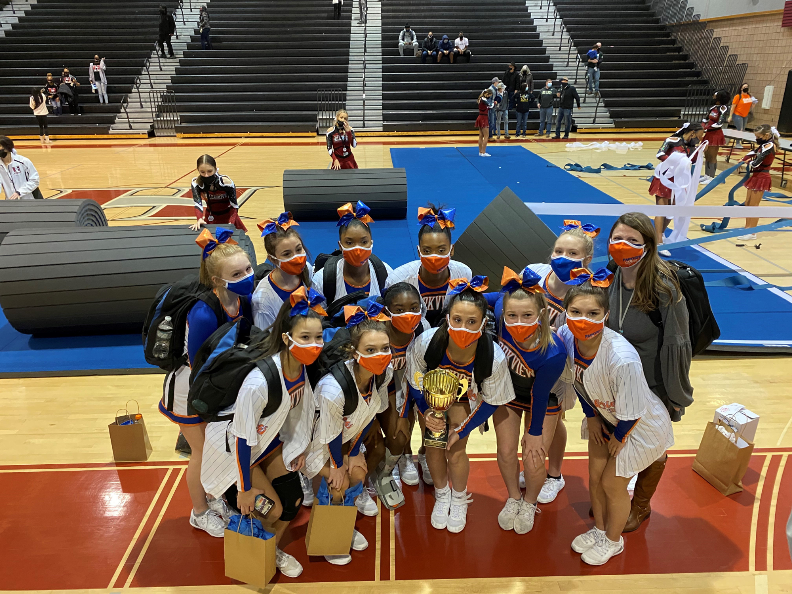 Comp Cheer Wins Region Championship