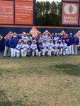 Boys Varsity Baseball beats South Gwinnett 15 – 0