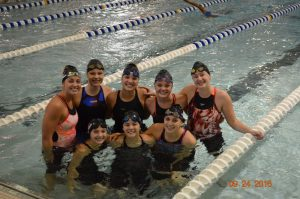 Fenton Girls Swim – County Meet 2016