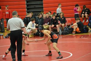 Wrestling vs Swartz Creek 1/4/17