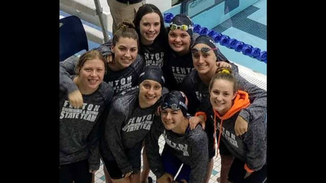 Girls Swim & Dive Ends Season on a High Note!