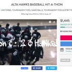 Support Alta Hawks Baseball Fundraising