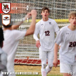 Boys Varsity Soccer beats Skyridge 2 – 1