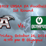 Football: Hawks in the playoffs!