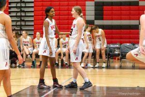 Girls Basketball vs Olympus
