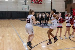 Girls Varsity Basketball vs CC – Senior Night