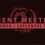 Alta Soccer Freshman/Sophomore Parent Meeting