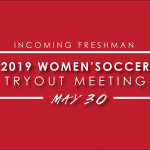 2019 Lady Hawk Soccer Tryout Meeting – Incoming Freshman