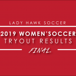 2019 Lady Hawk Soccer Tryouts – Final Results