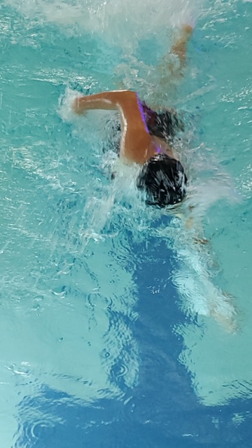 Alta swims past the competition against Mt. Ridge