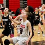 2020 Lady Hawk Sophomore Basketball vs Mountain View