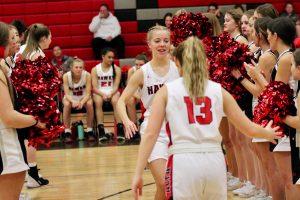 2020 Lady Hawk Varsity Basketball vs Mountain View