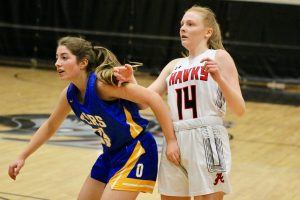 2020 Lady Hawk Sophomore Basketball vs Orem