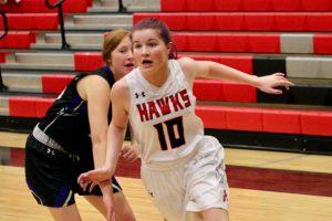 2020 Lady Hawk Sophomore Basketball vs Lehi