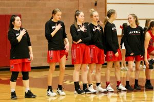 2020 Lady Hawk Varsity Basketball at Maple Mountain (Playoffs Round 1)