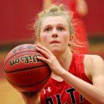 Lady Hawks Basketball beats Maple Mountain 42 – 39