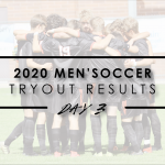 2020 Men's Soccer Tryout Results – Final List