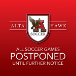 Soccer Games Postponed