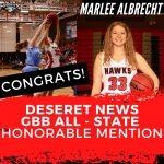 Congratulations Marlee Albrecht!