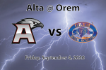 Watch Live! Alta @ Orem Football – Tickets Available!