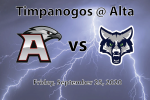 Watch Live! Football: Timpanogos at Alta – Homecoming 2020