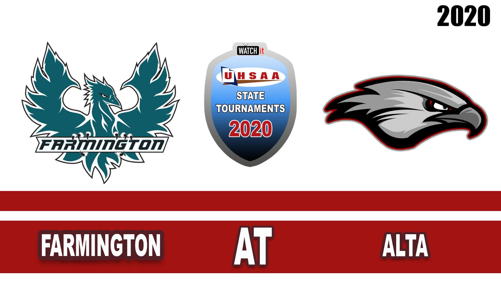 Watch Live! 5A Football 1st Round Playoff – Farmington at Alta