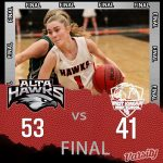 Lady Hawks Basketball beats West Jordan 53 – 41