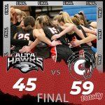 Lady Hawks Basketball falls to Corner Canyon 59 – 45
