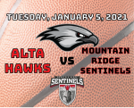 Watch Live! Lady Hawks Basketball @ Mountain Ridge