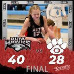 Lady Hawks Basketball beats Orem 40 – 28