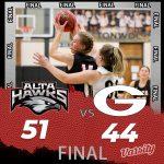 Lady Hawks Basketball beats Granger 51 – 44