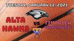 Watch Live! Lady Hawks Basketball vs Timpview