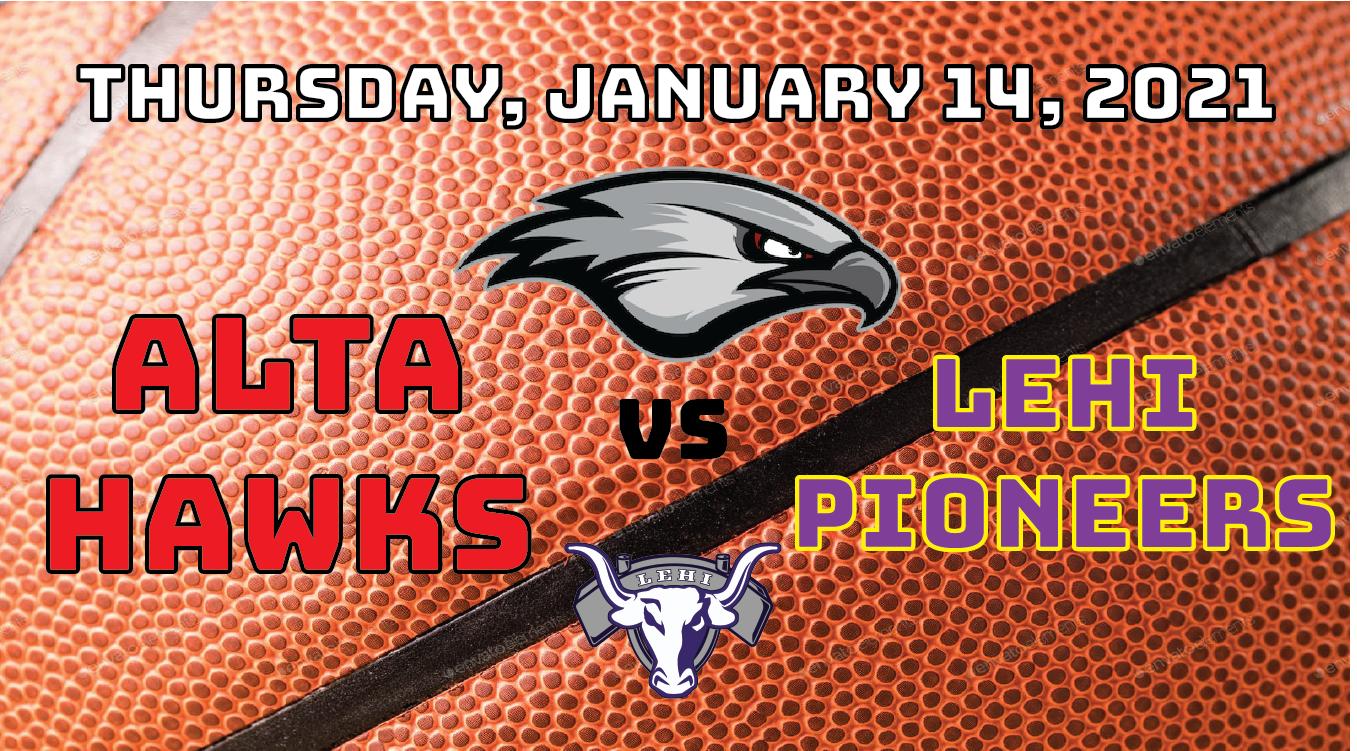Watch Live! Lady Hawks Basketball vs Lehi