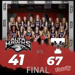 Lady Hawks Basketball falls to Timpview 67 – 41