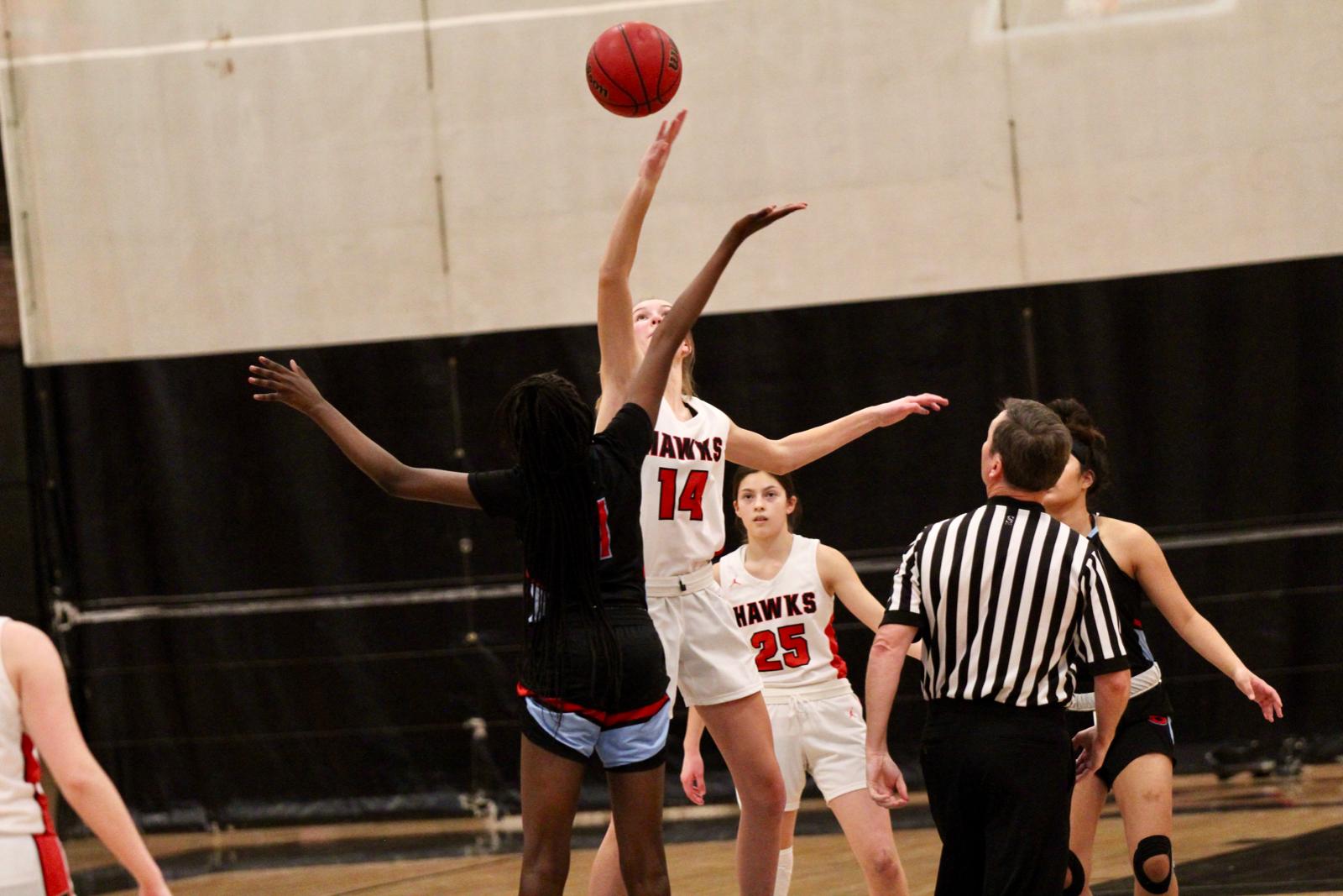 2020/2021 Lady Hawks Basketball JV vs Granger