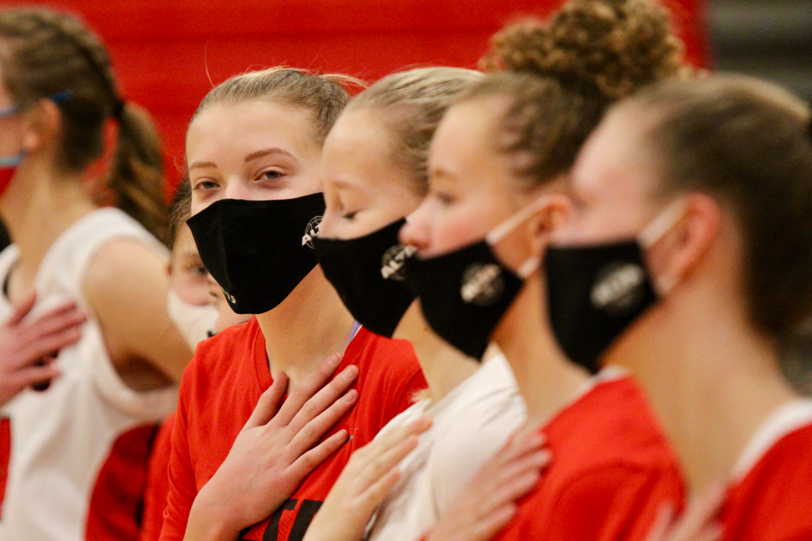 2020/2021 Lady Hawks Basketball Varsity vs Lehi