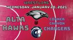 Watch Live! Hawks Wrestling @ Corner Canyon