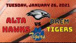Watch Live! Boys Basketball vs Orem