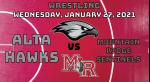 Watch Live! Wrestling vs. Mountain Ridge