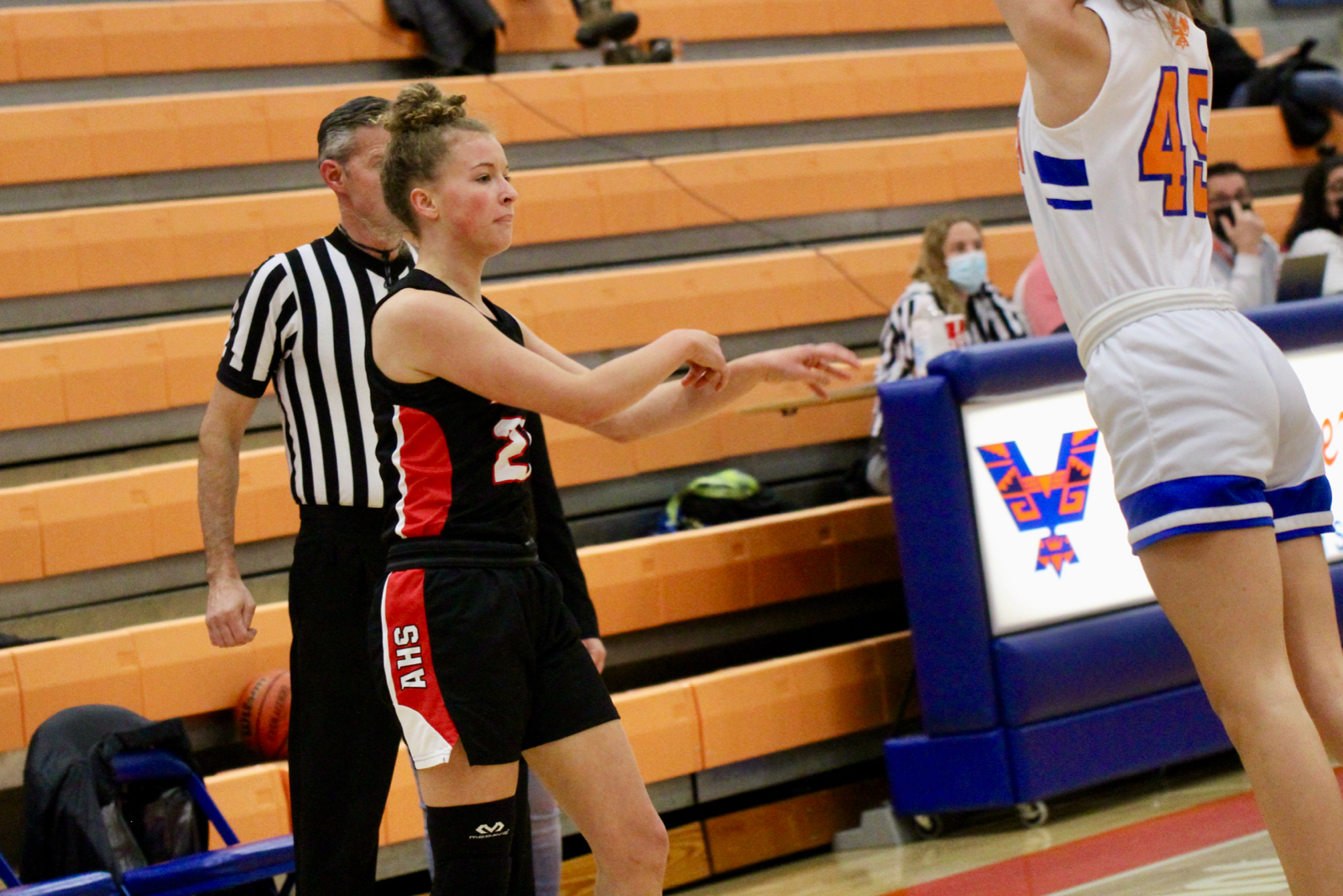 2020/2021 Lady Hawks Varsity Basketball at Timpview
