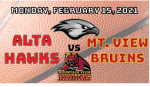 Watch Live! Lady Hawks Basketball vs Mt. View