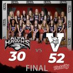 Lady Hawks Basketball falls to Viewmont 52 – 30