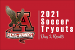 2021 Alta Men's Soccer Tryout Results – Day 2