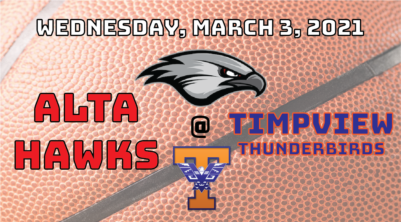 Watch Live! Alta @ Timpview – Quarterfinals of the 5A State Playoffs