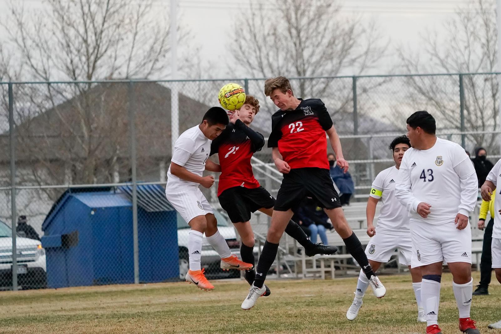 2021 Men's JV Soccer vs Hunter