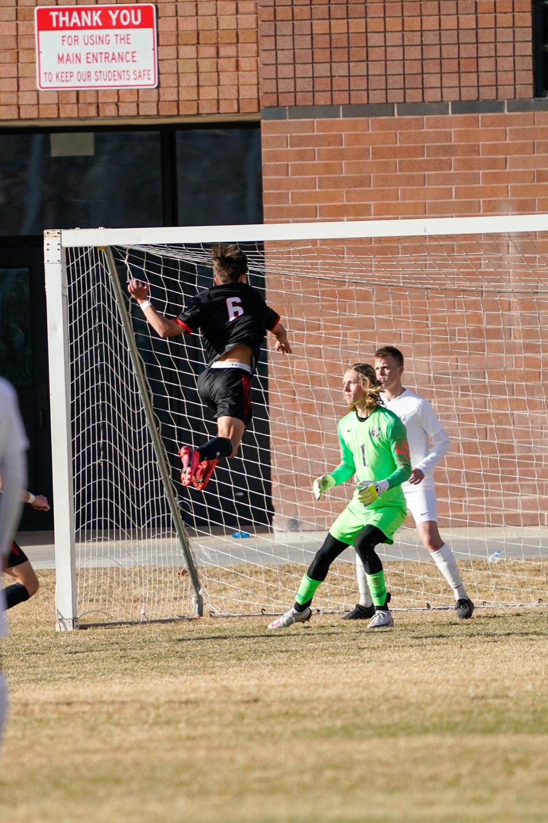 2021 Men's Varsity Soccer vs Green Canyon