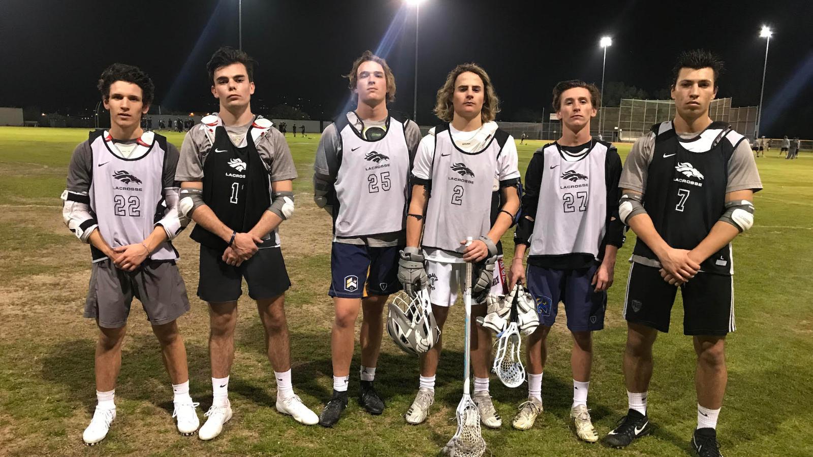 Boys Lacrosse Senior Night!